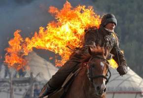 Watch out X-Games, the World Nomad Games is so different from anything else.