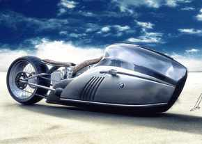 Concept BMW K75 Alpha Motorcycle by Erdem Now aReality